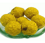 1 Kg. Boondi Ladoo made of pure Ghee. A perfect gift to celebrate the occasion.