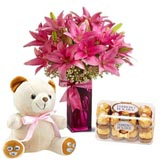 Send Flowers and other gifts through GiftsFlowerstoIndia.com